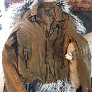 Designer Muubaa lamb jacket
